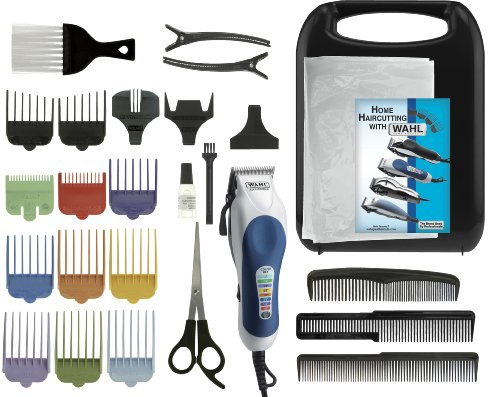 Overview The Wahl Color Pro Hair Clipper Kit