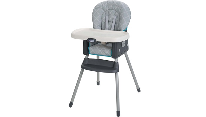 Second On Our List Is The Graco Simpleswitch Highchair It S A Two In One Chair That Converts Into Booster Seat When Your Child Ger Features 3