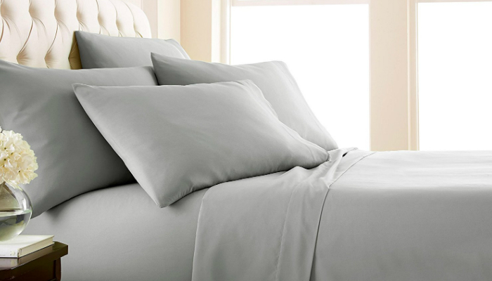 Souths Fine Living Sheet Set Has Extra Deep Pockets To Securely Cover A Thick Or High Mattress If You Have Other Accessories Such As