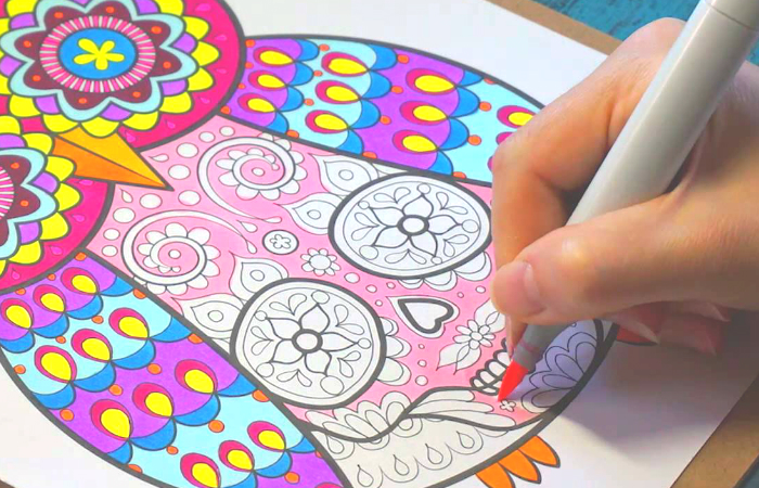 Best Adult Coloring Book - Smart Home Keeping