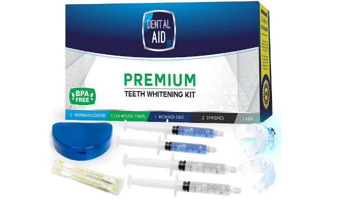 home teeth whitening instructions