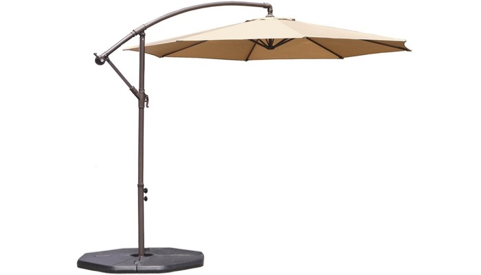 The Le Papillon Hanging Patio Umbrella Is Also A Great Option. It Is A  Cantilevered Umbrella Which Is Also Known As A Side Post Or Side Mount  Umbrella That ...