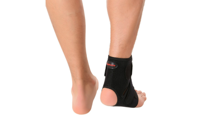 87843c0110 Liomor Breathable Ankle Brace can be used to treat edema or swelling. It's  elastic, moisture-free material prevents itch. The Velcro strap does not  get ...