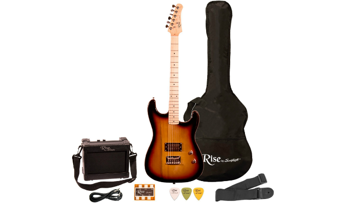 Sawtooth Rise Electric Guitar Is One Beautiful Instrument To Look At Because Of The High Quality Paint Job It Fits For Both Right And Left Handed People