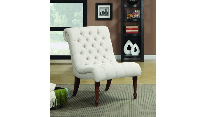 If You Want Something That Also Looks Really Dainty, The Coaster Home  Furnishings Casual Accent Chair, Light Brown/White Is A Great Choice. This  Reading ...