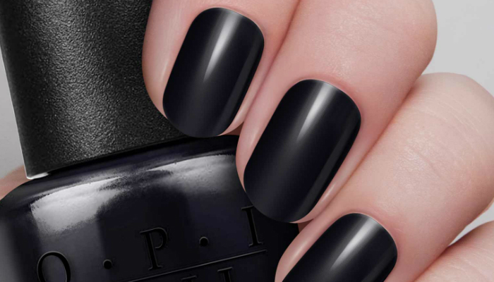 One Por Shade Of Black Is Onyx The Color Representation A Mineral Same Name When Lied On Nails Leaves Off Dull Finish