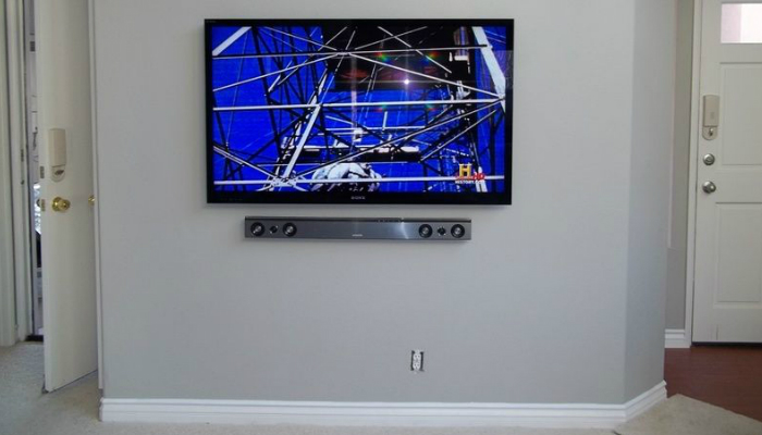 how to mount a tv on the wall smart home keeping