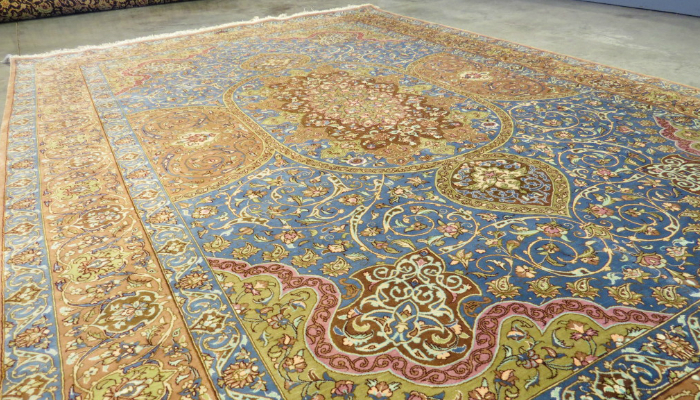 Cotton Is A Popular Type Of Material That Is Generally Used To Make Flat  Woven Rugs Like Dhurries And Kilims Nowadays. It Is Also Durable Like Wool  But ...